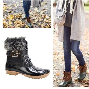 Shoes - Black Must Have Duck Boots